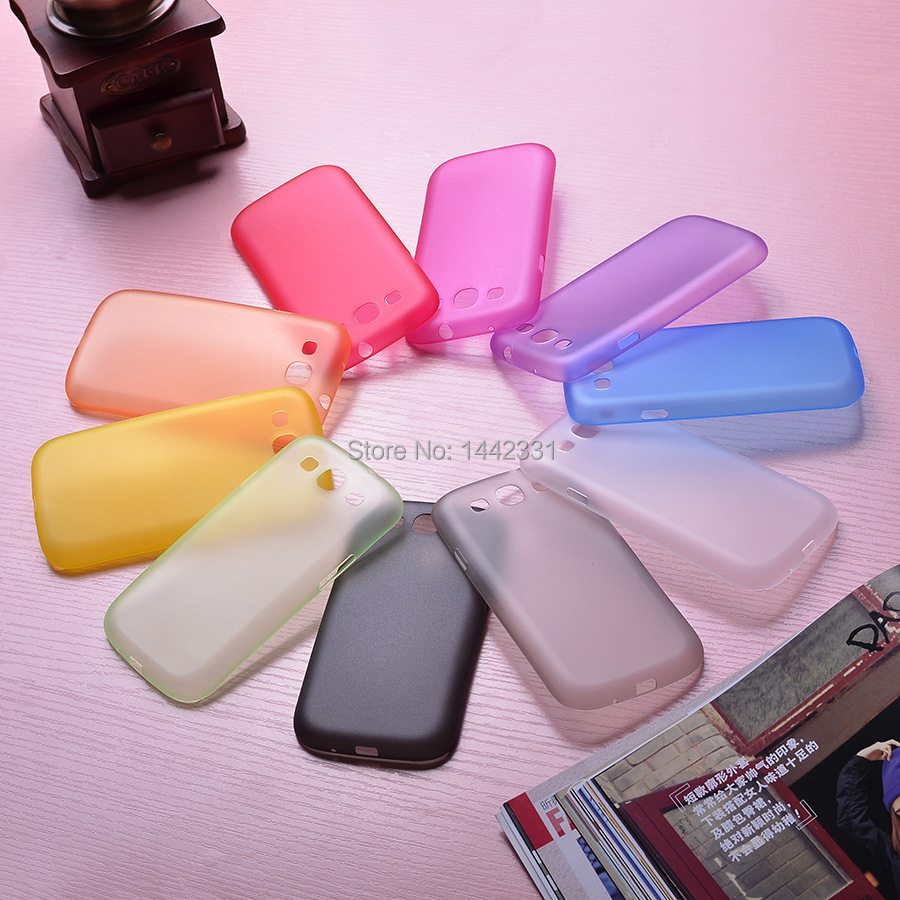 For Samsung Galaxy S3 i9300 SIII 0.29mm Ultra Thin Matte Case cover skin Translucent slim Free Shipping Cellphone Phone case(China (Mainland))