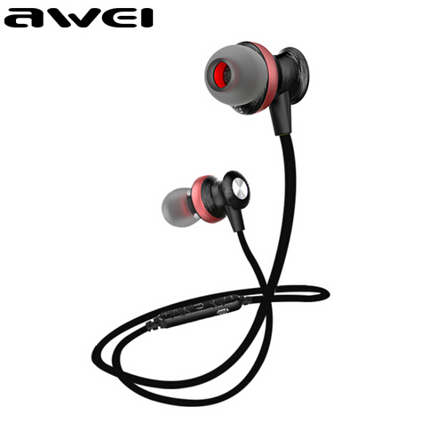 original awei a980bl bluetooth headphone sport wireless earphones waterproof headset auriculares. Black Bedroom Furniture Sets. Home Design Ideas