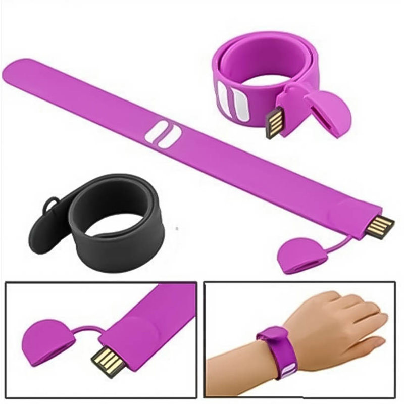 100% real capacity USB Flash Drive Silicone Bracelet Wrist Band 16GB 16GB 8GB 4GB USB 2.0 Pen Drive Stick U Disk Pendrives(China (Mainland))