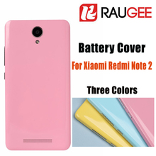 2016 New Smartphone Accessories For XiaoMi HongMi Note2 Battery Cover Redmi Note 2 Mobile Phone Battery Cover+Free shipping(China (Mainland))