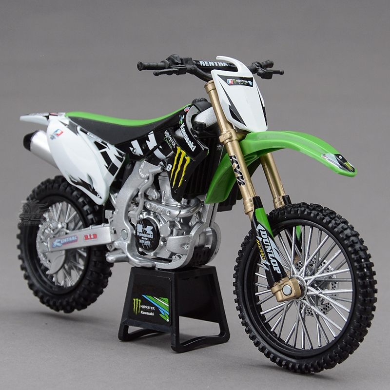 Freeshipping NEWRAY Kawasaki KX450F 2012 1:12 Motorcycles Diecast Metal Sport Bike Model Toy New in Box For Kids(China (Mainland))