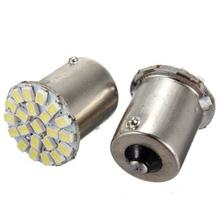 500pcs/lot 12V S25 BA15S 1156 22SMD 1206 direction indicator lamp/backup light white(China (Mainland))