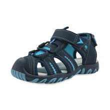 Apakowa חדש לגמרי קיץ חוף ילדי בני סנדלי ילדים נעלי סגור הבוהן קשת תמיכת ספורט סנדלי בויז האיחוד האירופי גודל 21 -32(China)