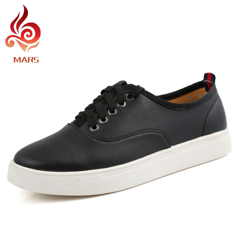 Plus Size Men Loafers Spring Fashion Men Shoes Leather Men Casual Flats Shoes Lace Up Car-driving Shoes Big Size:38-46,MHC286<br><br>Aliexpress