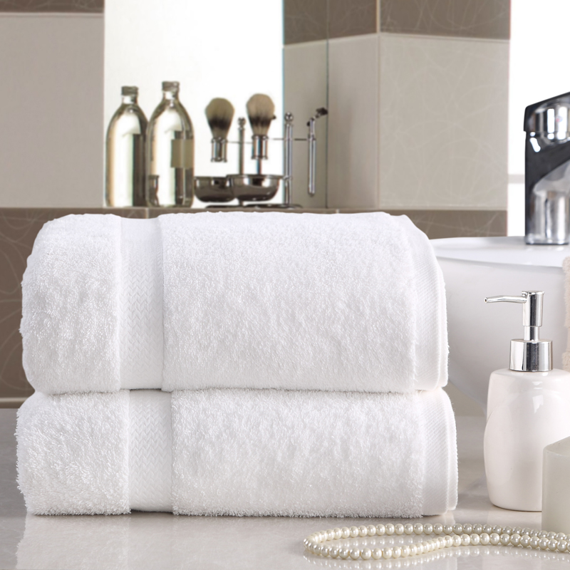 Kang Erxin five Stars Hotel towel Cotton increased male and female adult white towel 180*100cm thickening(China (Mainland))