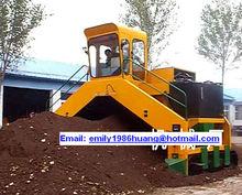 (20 years manufacturer)pig manure turner, pig manure turner machine, pig manure compost machine(China (Mainland))