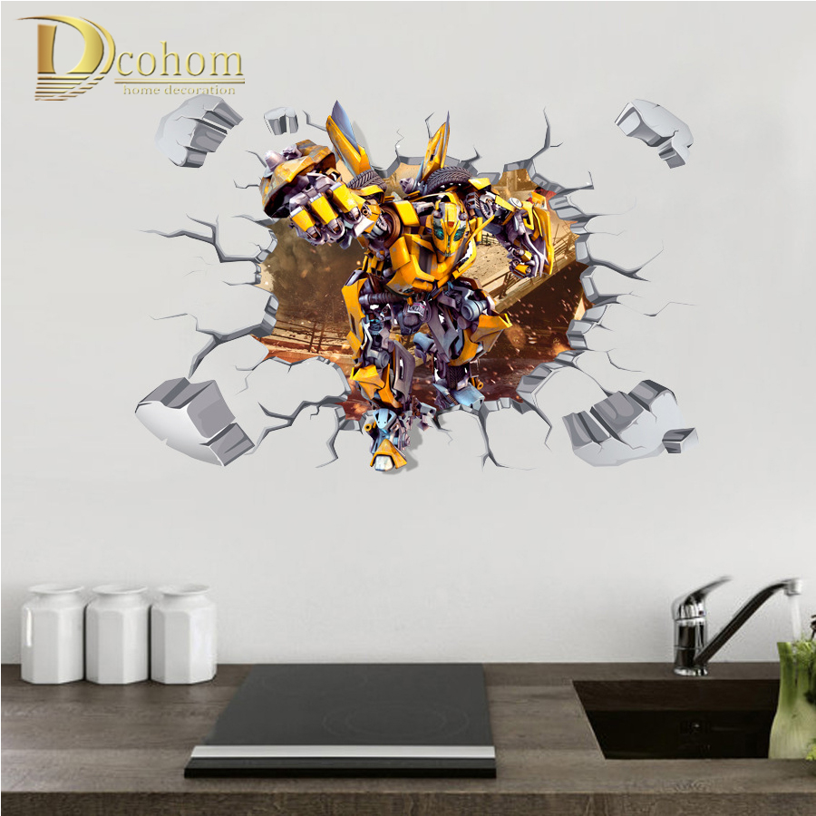 Transformers wall murals reviews online shopping for Bumble bee mural