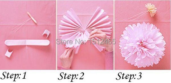 Как делать помпоны из бумаги