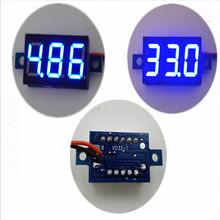 1 шт. жк-цифровой вольтметр амперметр voltimetro из светодиодов Amp amperimetro вольтметр постоянного тока бесплатная доставка