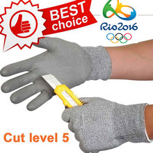 NMSafety New Arrival Working Protective Gloves Cut-resistant Anti Abrasion Safety Gloves Anti Cut Gloves(China (Mainland))