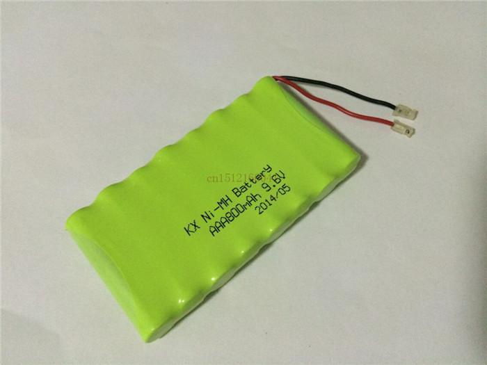 1PCS/lot Original New Ni-MH 9.6V 800mAh Ni-MH AAA Rechargeable Battery Pack With Plugs Free Shipping(China (Mainland))