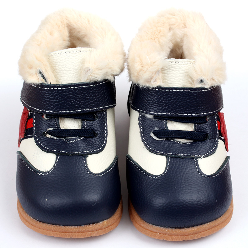 Baby Boots for Girl Snow Boots Leather Baby Shoes Winter Baby Boots Boys Infant Shoes Kids Rabbit Fur Warm Toddler Moccasins(China (Mainland))