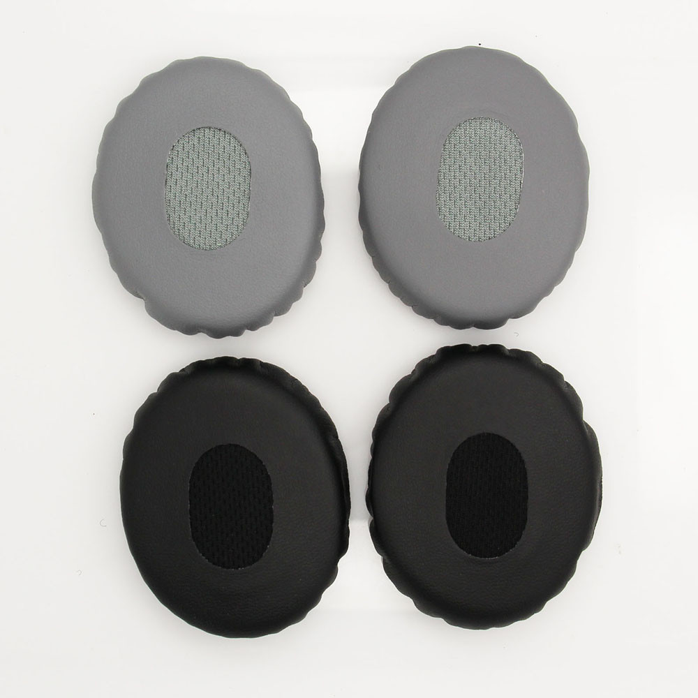 High Quality Soft Leather Replacement Earpads Headset Ear Pad Cushion for Bose OE2 OE2I Headphone Headset Gray/Black