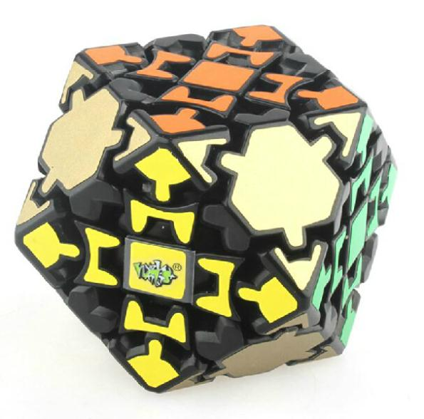 LanLan Gear tetradecahedral 14 Magic Dice Puzzles Cubo magico Puzzle studying & schooling toys