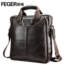 Genuine Leather Man Messenger Bags/handbags/document Cart Leather Bags for Men Briefcase For Ipad With Handle