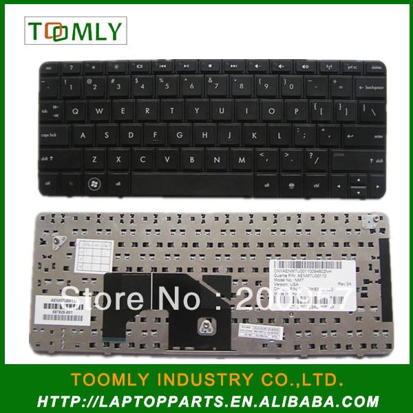 Original Brand New Laptop Keyboard For HP MINI 210 Black US Layout P/N 590526-001---- Free Shipping<br><br>Aliexpress
