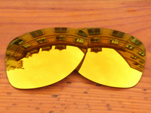 Polycarbonate-Fire Red Mirror Replacement Lenses For Dispatch 2 Sunglasses Frame 100% UVA & UVB Protection