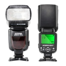 Buy ZOMEI New Pre Brand Wireless Mini Flash ZM430 Speedlite Canon Nikon Hot Shoe Flash Speedlite, Photo Flash for $42.49 in AliExpress store