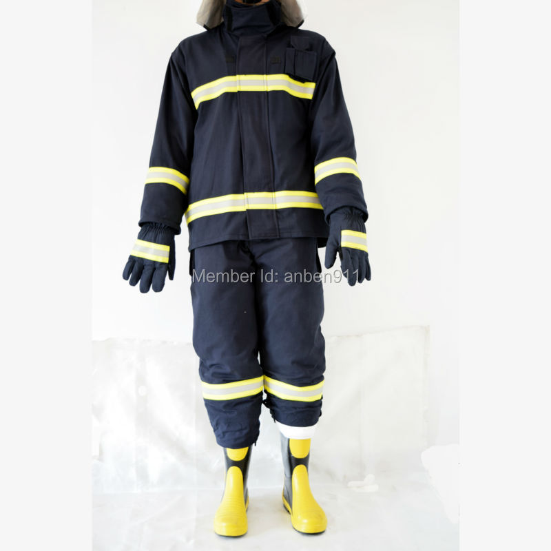 2017 New Factory direct sale CE and NFPA Firemen Fire Fighting Suit Fire Fighting Fire Jacket Fire performance clothing