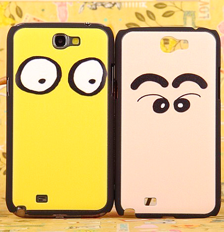Colored drawing for samsung phone case note2 n7100 protective case shell mobile phone case emboss