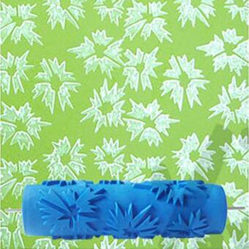 Peinture mur motif promotion achetez des peinture mur - Rouleau peinture motif ...