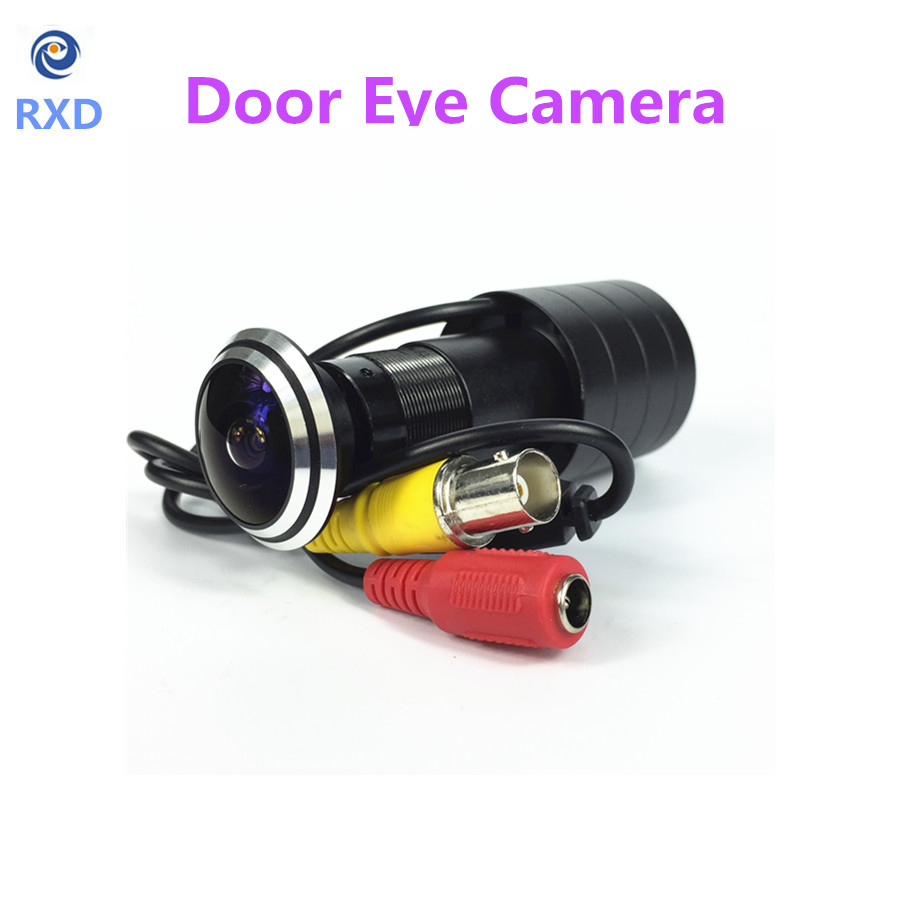 hot sell 170 Wide Angle CCD Wired Mini Door Eye Hole Peephole Video Camera Color DOORVIEW CCTV Camera(China (Mainland))