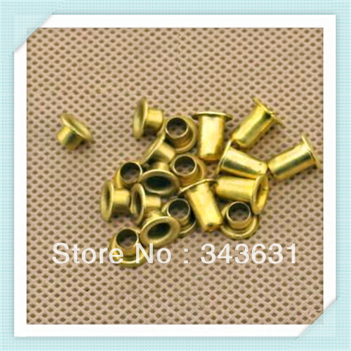 Freeing Shipping M5*10 Brand New Hollow Copper rivets,Bronze rivets(100pcs/lot  )<br><br>Aliexpress