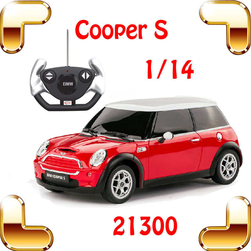 new year gift rastar 21800 1 14 mini cooper s rc remote control toy car big sedan car electric. Black Bedroom Furniture Sets. Home Design Ideas