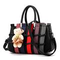 High Quality Womens Tote Handbag Splice Shoulder Bags Lady Patchwork Shopping Bags Fashion Messenger Bag