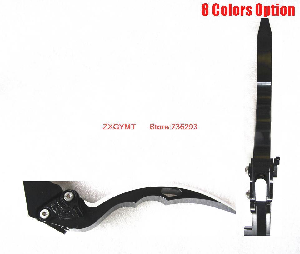 high saber shape Motorcycle Brake Levers fit Kawasaki Kl 250 Kl250 1991 2005 Hand Lever Alloy
