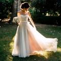 2017 vestido de noiva Cheap Romantic Sexy New Beach Wedding Dress Lace Boho Bride Gowns