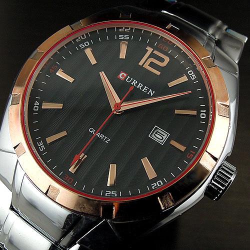 2016 Curren Luxury Sport Watches Water Quartz Hours Date