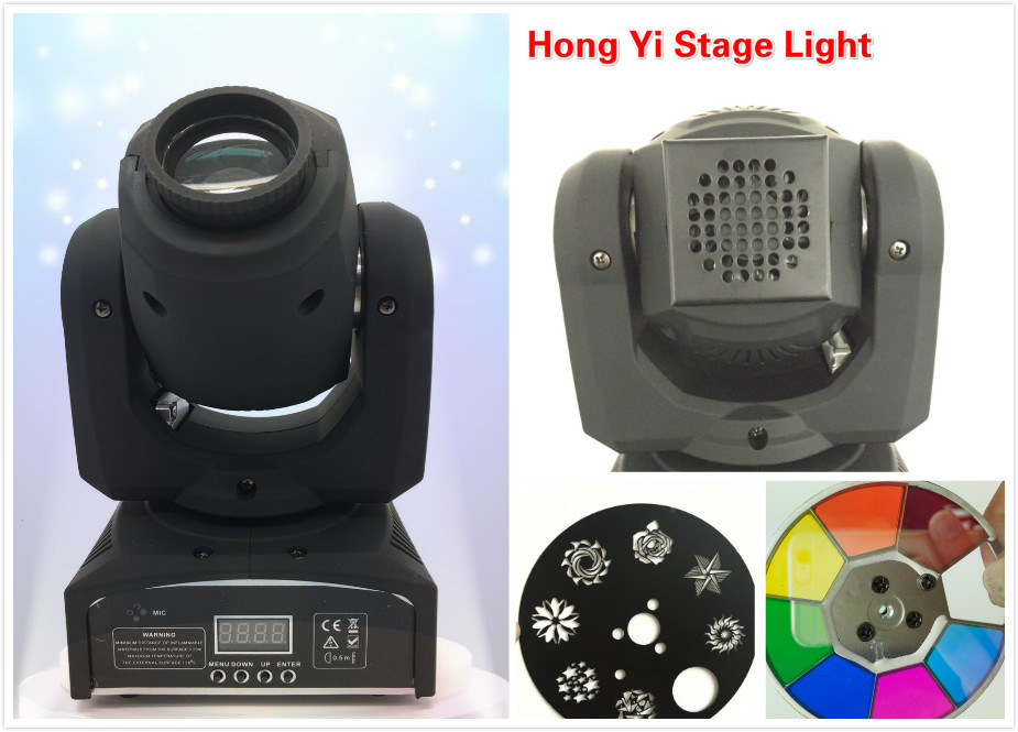2016 Hot Factory direct sale 30w LED Moving Head Lights spotlight DMX512 for Disco DJ Club Home Garden Party Wedding Effect(China (Mainland))