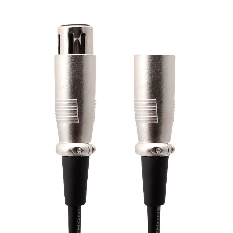 Revofree High Quality Audio Cable Male To Female 3m Audio Cable Microphone XLR Cable Loudspeaker Wire Aux Lead Sliver Audio Wire(China (Mainland))