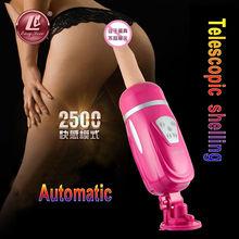 Easy Love Female Masturbation Pumping Gun Automatic Retractable Gun,Vibrating Dildo Thrusting Vibrator Sex Machine for Women(China (Mainland))