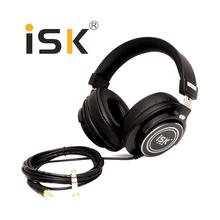 Professional ISK Hifi Headphone MDH8000 Monitor Earphone Computer Headset DJ fone de ouvido Audio Mixing Recording Gaming 3.5mm