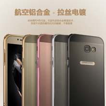 Buy Luxury Aluminum Metal case Samsung Galaxy A3 A5 A7 2017 Hard Mirror Hybrid Protective back cover samsung a320 a520 a720 for $4.59 in AliExpress store