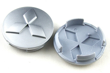 4pcs 60mm Wheel Center Centre Caps Hub Caps for Mitsubishi Free shipping(China (Mainland))
