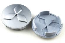 4pcs 60mm Wheel Center Centre Caps Hub Caps for Mitsubishi Free shipping(China (Mainland))