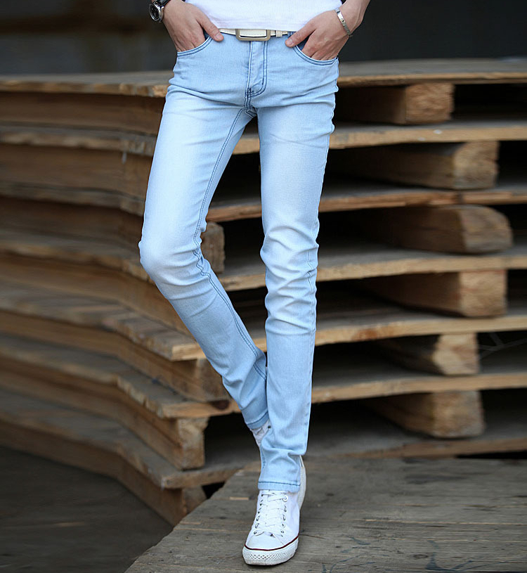 light jeans mens - Jean Yu Beauty