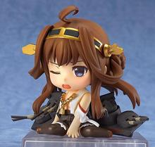 Buy Anime Figure 10CM Cute Nendoroid Kantai Collection Kongo #405 PVC Action Figure Collectible Model Toy for $15.11 in AliExpress store