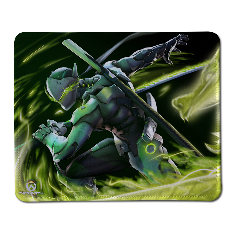 Hot sales Anime mousepad Genji Overwatch mouse pad best gaming mouse pad gamer League large NEW mouse pad keyboard pad