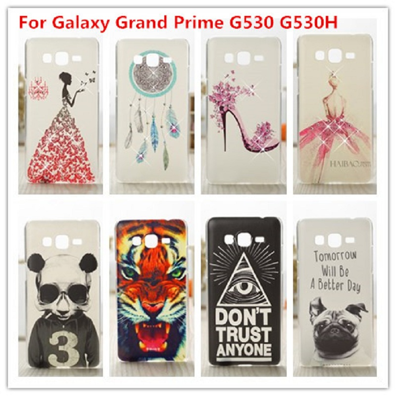 Гаджет  New Painting Hard PC Plastic Cases Back Phone Cover Case For Samsung Galaxy Grand Prime G530 G530H G5308W cases None Телефоны и Телекоммуникации