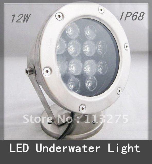12W LED Fountain/Pool Light Underwater Lamp Waterproof IP 68 RGB change