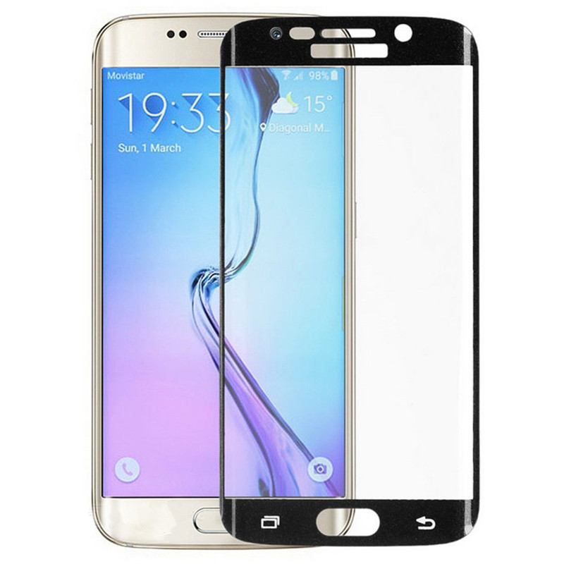 0.2mm 3D Full Screen Curved Tempered LCD Glass Protector Samsung S6 edge - ONEWAY Technology Co.,LTD store