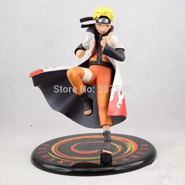 Hotsell 16cm PVC japanese anime figures GEM game Naruto Shippuden Uzumaki Naruto dolls Heads Hands Exchange toys for children(China (Mainland))