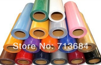 6 meters PVC Vinyl from Korea, PVC heat transfer film(China (Mainland))