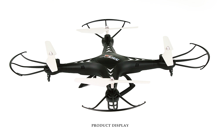 SJ-X300-1 2.4G Color Display 4D Roll Big Remote Control Planes 2MP HD Camera Toy Helicopter RC Aircraft with 6 Gyro