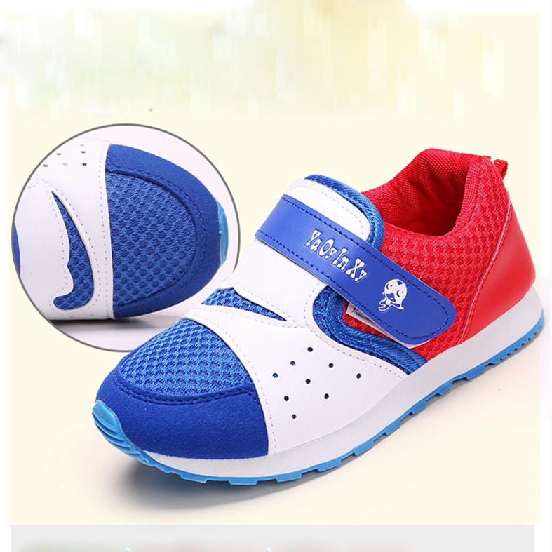 Дети сетка обувь 2015 осенние