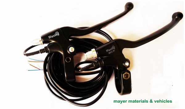 black brake lever